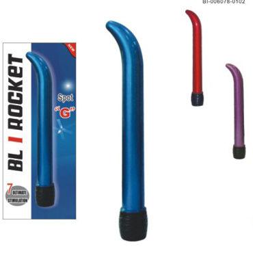 Baile BL I Rocket Spot G, фиолетовый Вибростимулятор точки G gopaldas mojo черный большая анальная пробка