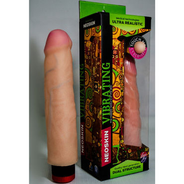 Bioclon Human Form, телесный Вибратор реалистичный baile pretty love backie розовый вибростимулятор простаты