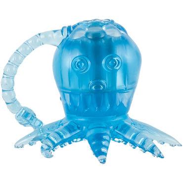 White Label Octopus, голубой Вибростимулятор осьминог т игрушки для фиксации цвет голубой