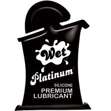 Wet Platinum, 10мл Густой силиконовый лубрикант гель лубрикант wet platinum 124 мл 4 2 oz