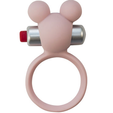 Lola Toys Emotions Minnie, светло-розовое Эрекционное виброколечко для сексуального здоровья lola toys