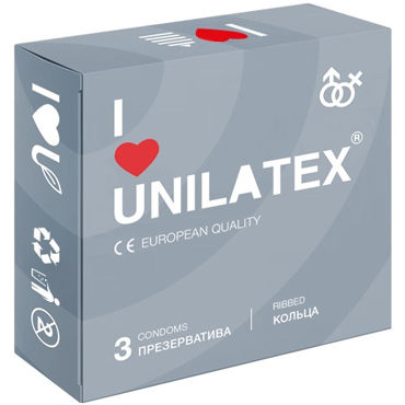 Unilatex Ribbed Презервативы c кольцами woodpecker ultrasonic piezo scaler uds e ems compatible fda ce original