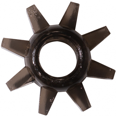 Lola Toys Rings Cogweel, черное Эрекционное кольцо doc johnson crystal jellies розовый анальная пробка в форме елочки