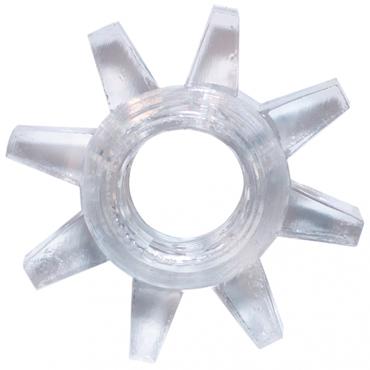 Lola Toys Rings Cogweel, прозрачное Эрекционное кольцо двухсторонний фаллоимитатор double header bender 12 чёрный