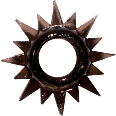 Lola Toys Rings Cristal, черное Эрекционное кольцо фаллоимитатор из стекла icicles no 29
