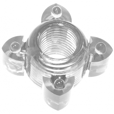 Lola Toys Rings Screw, прозрачное Эрекционное кольцо гель лубрикант come in gleit на водной основе с алоэ вера 2мл