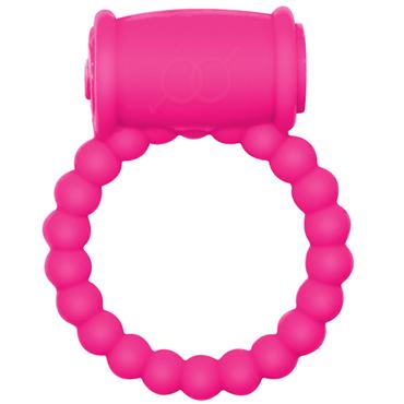 Lola Toys Rings Drums, розовое Эрекционное кольцо с вибрацией durex play flames эрекционное кольцо с вибрацией