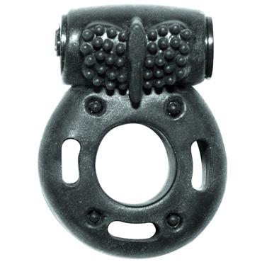 Lola Toys Rings Axle-pin, черное Эрекционное кольцо с вибрацией tonga вибратор реалистик