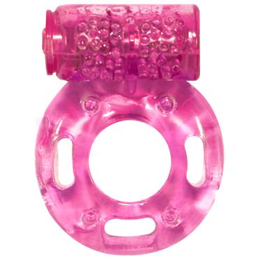 Lola Toys Rings Axle-pin, розовое Эрекционное кольцо с вибрацией mif вибратор 25 реалистичный вибратор