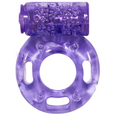 Lola Toys Rings Axle-pin, фиолетовое Эрекционное кольцо с вибрацией кольцо эрекционное с клиторальным стимуляторомл