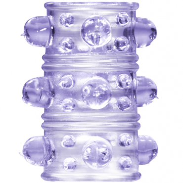 Lola Toys Rings Armour, фиолетовая Стимулирующая насадка на пенис я lola nicole