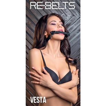Rebelts Vesta, черный Кляп-трензель rebelts yona manga