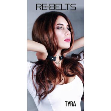 Rebelts Tyra, черный Ошейник - расширитель для рта расширитель для рта extreme spider gag