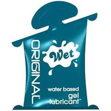 Wet Original, 10 мл Гипоаллергенный увлажняющий лубрикант стимулятор клитора lelo alia