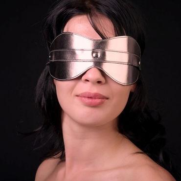 Sitabella маска, золотая Универсального размера а mif вибромассажер 17 см