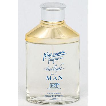 Hot Man Twilight, 50 мл Духи для мужчин с феромонами hot man natural spray extra strong 10 мл духи спрей для мужчин с феромонами