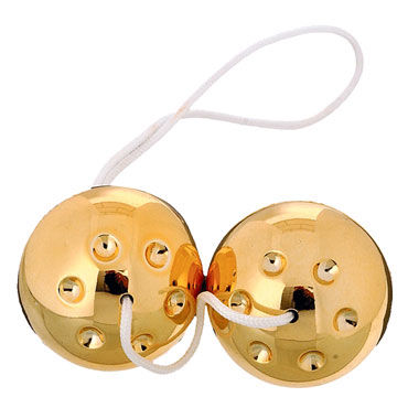 Scala Selection Gold Metal Balls Вагинальные шарики й topco pet pussyamp ass mckenzee miles