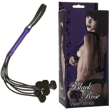 Doc Johnson Vixen Vines Плеть с цветами на концах menzstuff twisted probe red играть