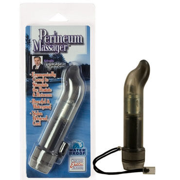 California Exotic Dr Joel Kaplan Perineum Massager Вибромассажер простаты я lola toys back door small ripple plug розовая