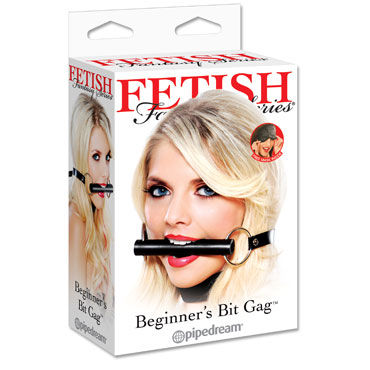 Pipedream Beginners Bit Gag Кляп в виде трензели pipedream platinum ball gag
