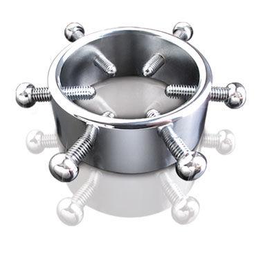 Pipedream Adjustable Cock Clamp Металлический зажим для мошонки pipedream ball stretcher универсальный растяжитель мошонки