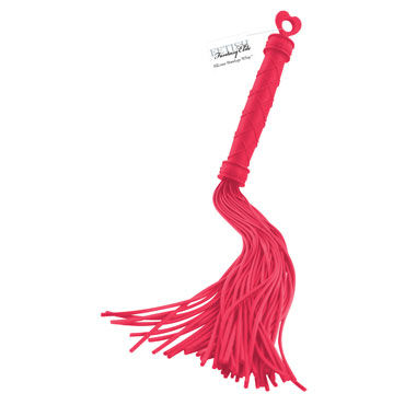 Pipedream Silicone Bondage Whip, красный Силиконовая плеть bioritm silicon love uneversal 30мл универсальный силиконовый гель лубрикант