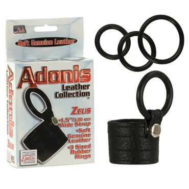 California Exotic Adonis Leather Collection