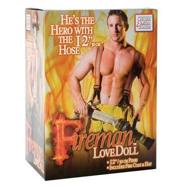 California Exotic Fireman Секс-кукла ''Пожарник'' надувная секс кукла 4ugreen