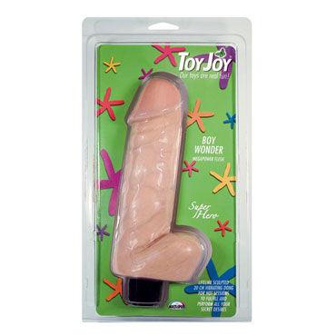Toy Joy Boy Wonder 20 см, телесный Реалистичный вибратор вибромассажер toyfa black