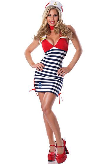 Le Frivole Повелительница морей Платье, шапочка и лента на шею le frivole главный врач платье чепчик ремень и нарукавник