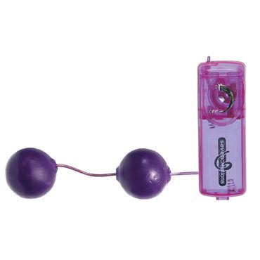 Seven Creations Spectraz, фиолетовые Вагинальные шарики с вибрацией gopaldas domino metallic balls серые вагинальные шарики металлические