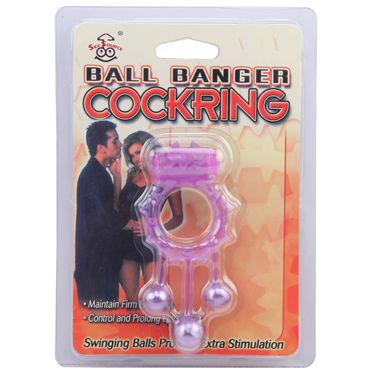 Chisa виброкольцо С тремя подвесками chisa секс игрушки для взрослых кольцо для мужчин 10 шт