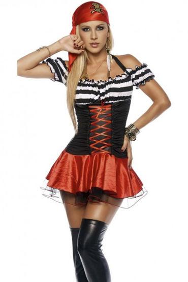 Le Frivole Коварная пиратка Мини-платье и платок на голову le frivole главный врач платье чепчик ремень и нарукавник