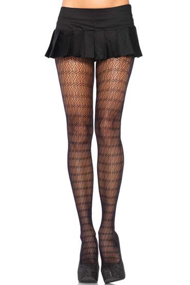 Leg Avenue колготки С ажурным орнаментом leg avenue колготки с ажурным плетением