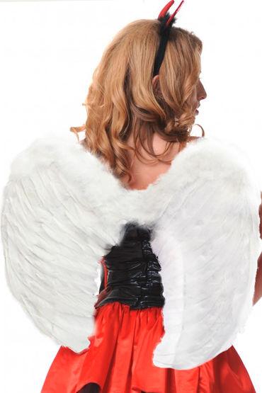 Le Frivole крылья, белые Закругленные, 60х50 см крылья le frivole закругленные белые one size
