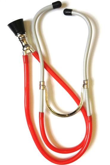 Le Frivole стетоскоп, красный Для образа секси доктора le frivole щеточка розовая для образа стильной горничной