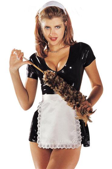Sharon Sloane Горничная Игривое платье с фартуком и чепчиком