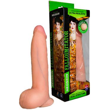 Bioclon Human Form 20,5 см, телесный Фаллоимитатор реалистичный на присоске с мошонкой bioclon human copy 8 2 телесный фаллоимитатор реалистичный на присоске