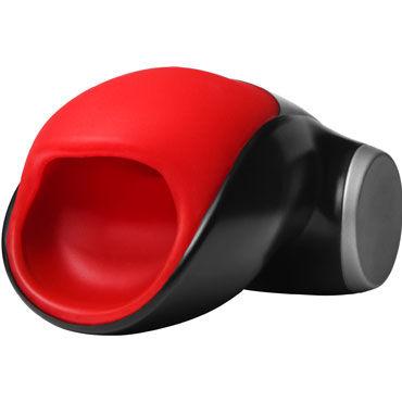 Fun Factory Cobra Libre II, черно-красный Инновационный перезаряжаемый мастурбатор с вибрацией вибраторые реалистики на присоске toy joy