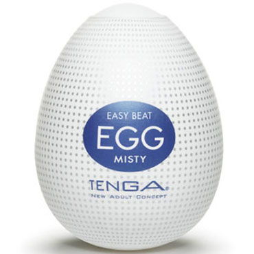Tenga Egg Misty Одноразовый мастурбатор с рельефом в виде микроскопических выступов мастурбатор tenga double hole cup