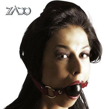 Zado Mundknebel Классический кляп zado leather collar ошейник с кольцом для пристегивания