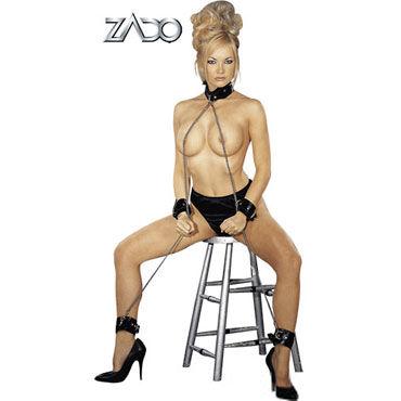 Zado All Over Fessel Комплект BDSM аксессуаров zado leather collar ошейник с кольцом для пристегивания