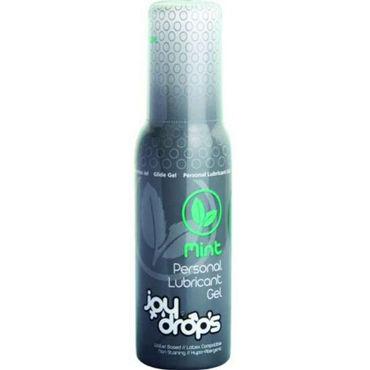 JoyDrops Mint, 100 мл Со вкусом мяты joydrops erection 5 мл возбуждающая смазка для мужчин