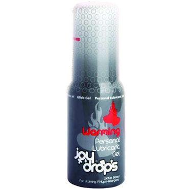 JoyDrops Warming, 50 мл Разогревающая смазка joydrops erection 5 мл возбуждающая смазка для мужчин