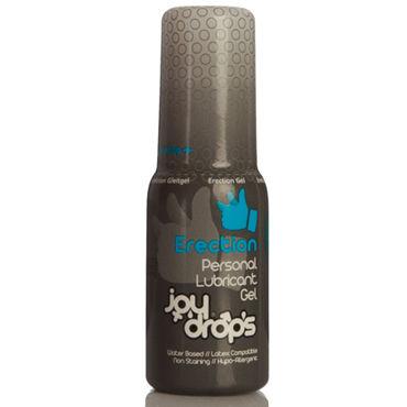 JoyDrops Erection, 50 мл Возбуждающая смазка для мужчин california exotic intimate ring ribbed кольцо на пенис