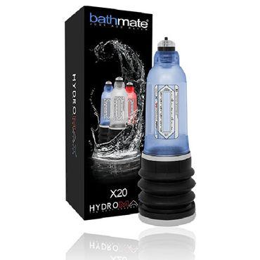 Bathmate Hydromax X20, синяя Модернизированная гидропомпа (размер S) вибратор dingye 100% 7 g spot dy047