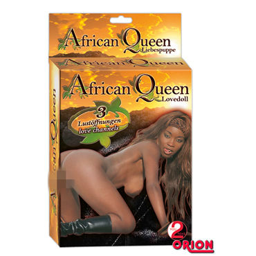You2Toys African Queen Кукла мулатка презервативы unilatex ultrathin 12 шт