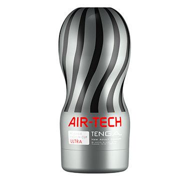 Tenga Air-Tech Ultra Мастурбатор с интенсивным рельефом, создающий ощущение глубокого минета tenga air tech twist ripple многоразовый мастурбатор с регулируемой степенью сжатия для деликатной стимуляции