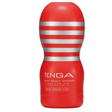 Tenga Deep Throat Мастурбатор имитирующий оральный секс coquette халатик черный легкий из кружева