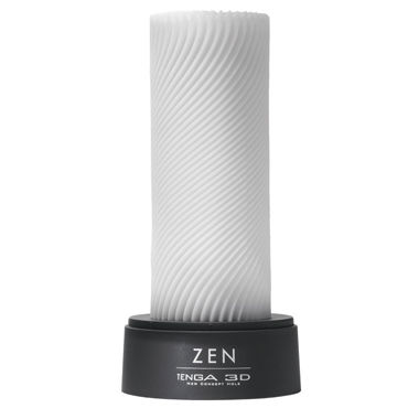 Tenga 3D Zen Многоразовый мастурбатор с уголками интимная игрушка nota party novely hp140038